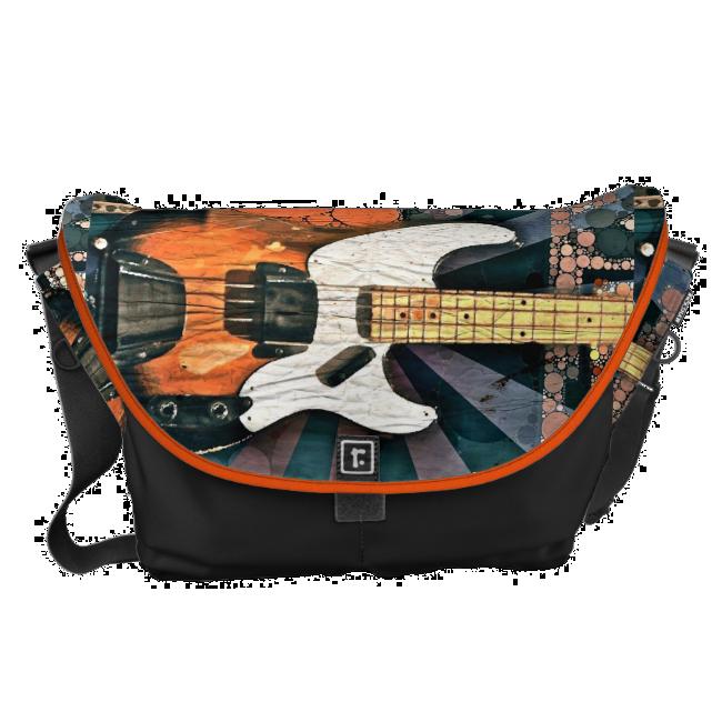 Vintage Bass Messenger Bag