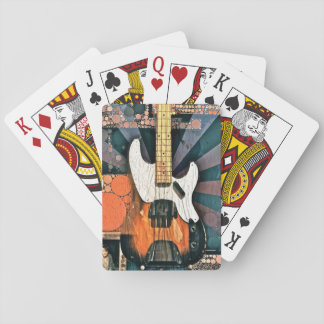 Vintage Bass Playing Cards
