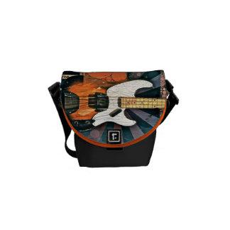 Vintage Bass Small Messenger Bag