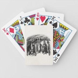 Vintage Bat 1800s Flying Fox Bat Bicycle Playing Cards