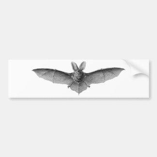 Vintage Bat Bumper Sticker