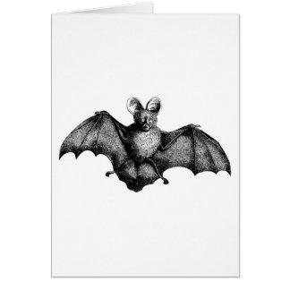 Vintage Bat Card
