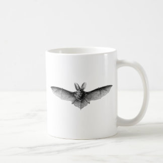 Vintage Bat Illustration Coffee Mug