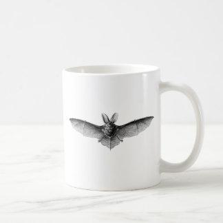 Vintage Bat Illustration Coffee Mug