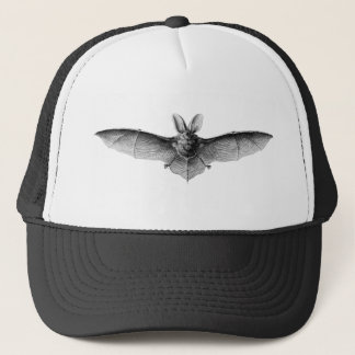 Vintage Bat Illustration Trucker Hat
