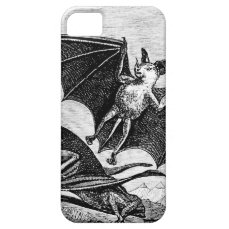Vintage BAT iPhone 5/5S, Barely There Case