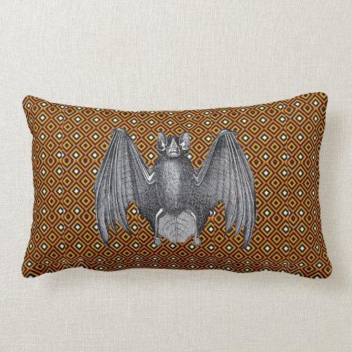 Vintage Bat Pillow