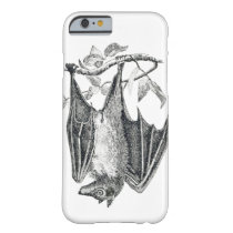 Vintage Bat print Barely There iPhone 6 Case