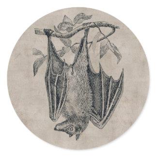 Vintage Bat Sticker