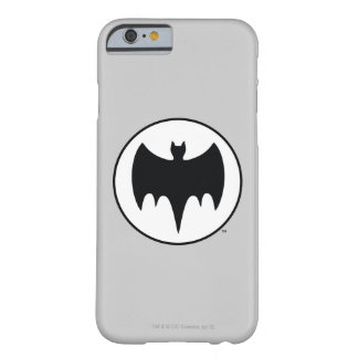 Vintage Bat Symbol Barely There iPhone 6 Case