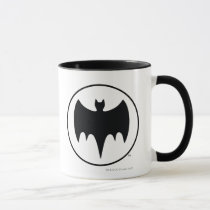 vintage bat symbol, batman show scene transition, batman, bat man, 1966 batman, 60's batman, batman action callout, action words, fighting sound effect words, punching sounds, adam west, burt ward, batman tv show, batman cartoon graphics, super hero, classic tv show, Mug with custom graphic design