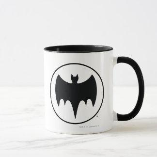Vintage Bat Symbol Mug