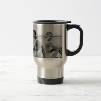 Vintage bathers travel mug