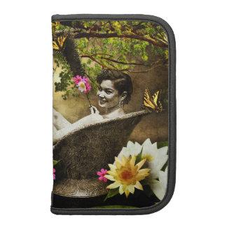 Vintage Bathgirl Smartphone en folio Planificadores
