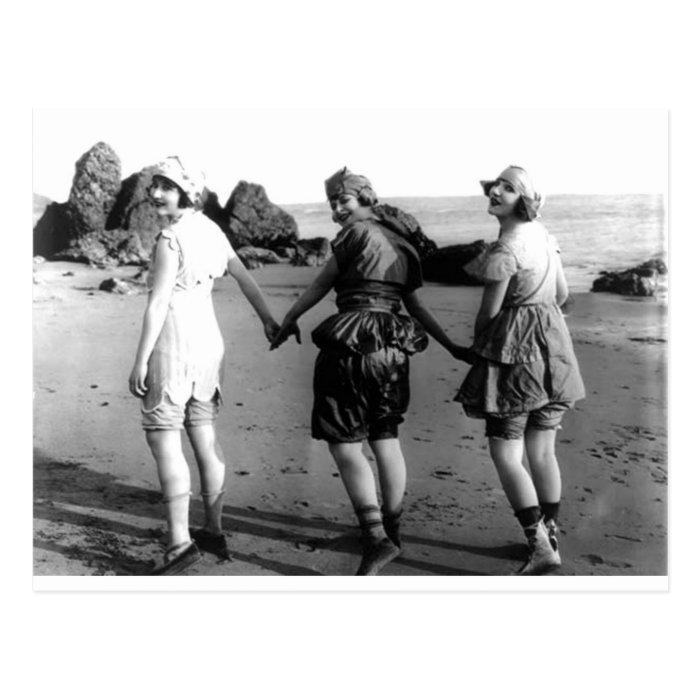 Vintage Bathing Beauties (25) Postcard
