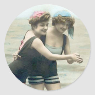 Vintage Bathing Beauty - Stickers