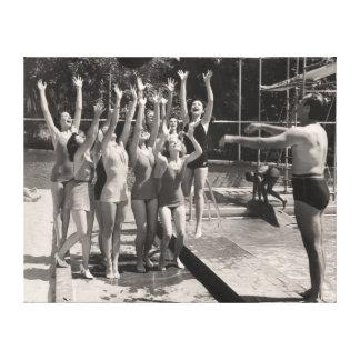 Vintage Bathing Suits Canvas Print - 1766908-2