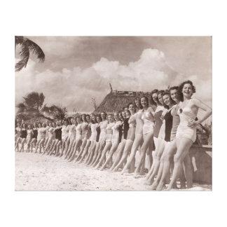 Vintage Bathing Suits Canvas Print  - 1780018.jpg