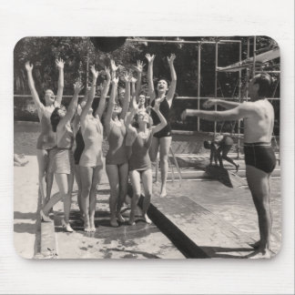 Vintage Bathing Suits Greeting Card - 1766908-5 Mouse Pad