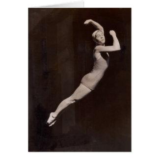 Vintage Bathing Suits Greeting Card - 1766937