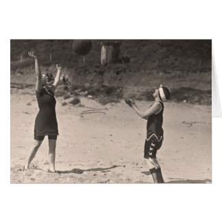 Vintage Bathing Suits Greeting Card - 1780169