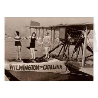 Vintage Bathing Suits Greeting Card - 1780225-3