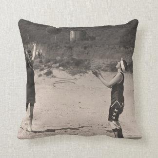 Vintage Bathing Suits Pillow - 1780196