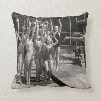 Vintage Bathing Suits Pillow - 1780225-6