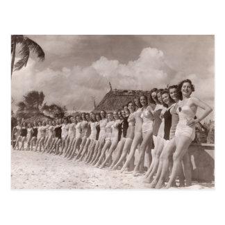 Vintage Bathing Suits Postcard - 1780018 jpg