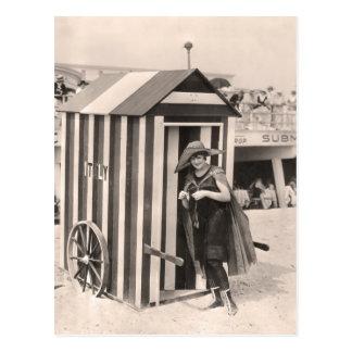 Vintage Bathing Suits Postcard - 1780157-4