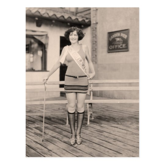 Vintage Bathing Suits Postcard - 1780182-4