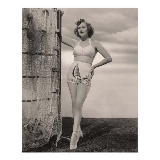 Vintage Bathing Suits Poster - 1780173-1