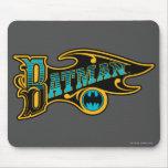 Vintage Batman Logo Mousepad