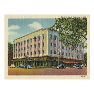 Vintage Battle Creek Michigan Postales