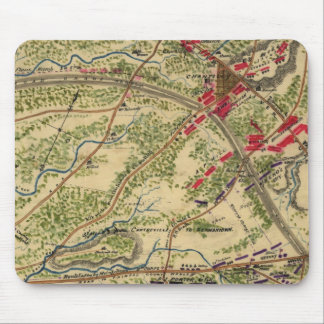 Vintage Battle of Chantilly Map (1862) Mouse Pad
