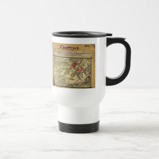 Vintage Battle of Chantilly Map (1862) Travel Mug