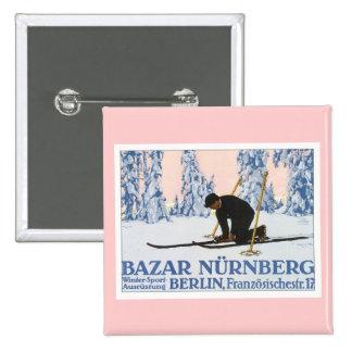 Vintage Bazar Nurnberg Button