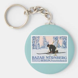 Vintage Bazar Nurnberg Keychain