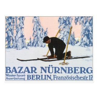 Vintage Bazar Nurnberg Postcards