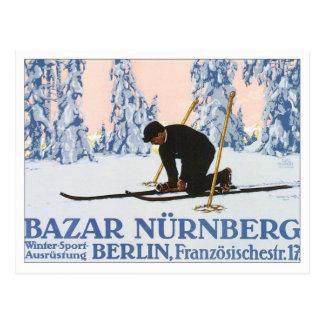 Vintage Bazar Nurnberg Post Card
