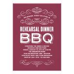 VINTAGE BBQ | REHEARSAL DINNER BBQ CUSTOM ANNOUNCEMENT