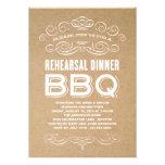 VINTAGE BBQ | REHEARSAL DINNER BBQ CUSTOM ANNOUNCEMENTS