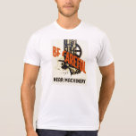 Vintage Be Careful Near Machinery WPA Poster T-Shirt