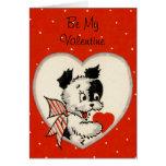 Vintage Be My Valentine Card