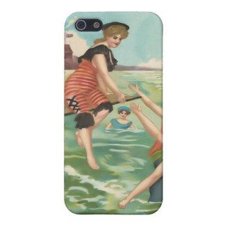Vintage Beach Babes iPhone 5C case