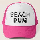 Vintage Beach Bum trucket hat for summer