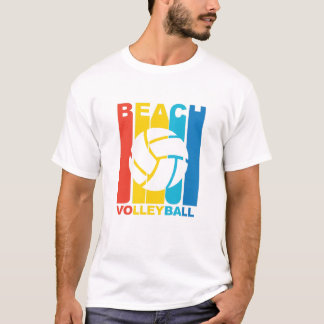 Vintage Beach Volleyball Graphic T-Shirt