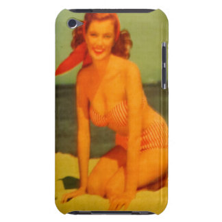 Vintage Beachgoer iPod Touch Cover