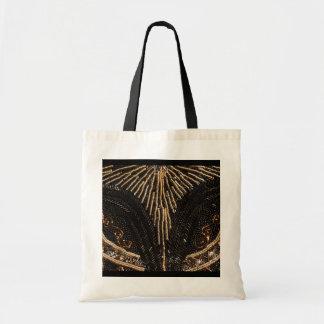 Vintage Beaded Purse design Budget Tote Bag