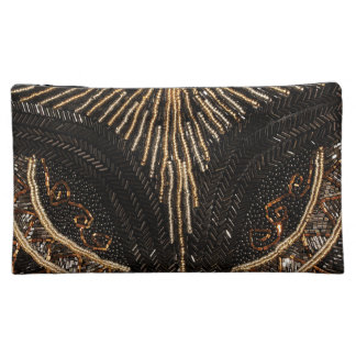 Vintage Beads - Elegant Fashion Design Makeup Bag